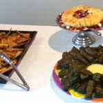 Preview_litefare.3grapeleaves.bakedbrie.dippingplate